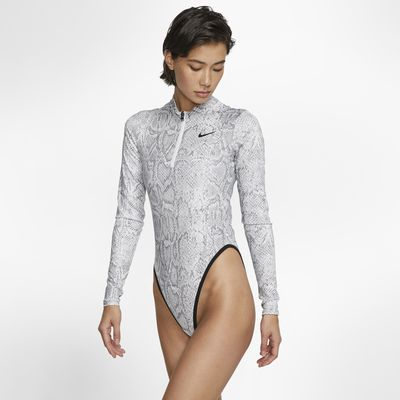 Damskie body z długim rękawem Nike Sportswear