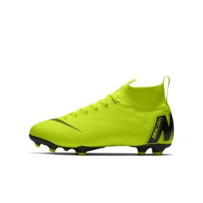 Chaussure de football à crampons pour terrain sec Nike Jr. Superfly 6 Elite FG pour Enfant plus âgé