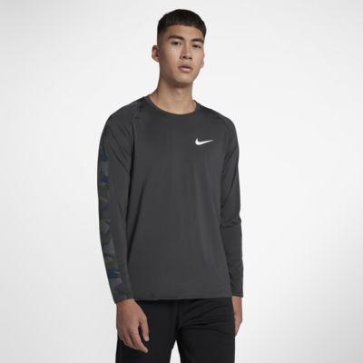 Nike Pro Men's Long-Sleeve Camo Top