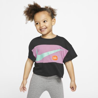Nike Toddler Cropped Short-Sleeve Top