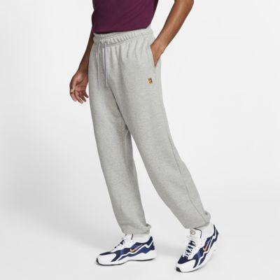 NikeCourt-tennisbukser i fleece til mænd