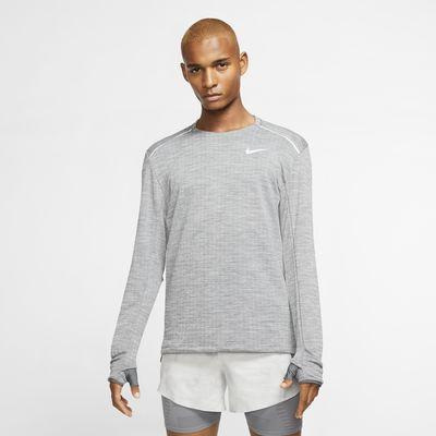 Męska koszulka z długim rękawem do biegania Nike Therma Sphere 3.0