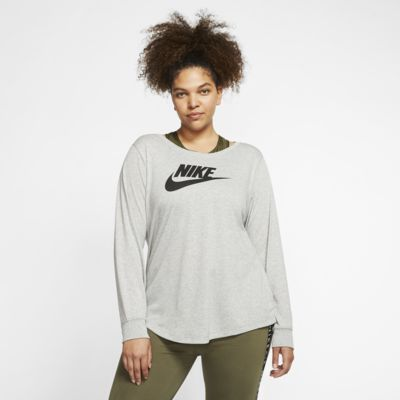 Nike Sportswear Essential Women's Long Sleeve T-Shirt (Plus Size)