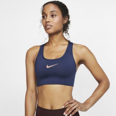 Nike Swoosh sports-BH med middels støtte til dame