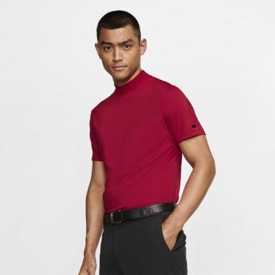 Nike Dri-FIT Tiger Woods Vapor-golfoverdel med høj krave til mænd