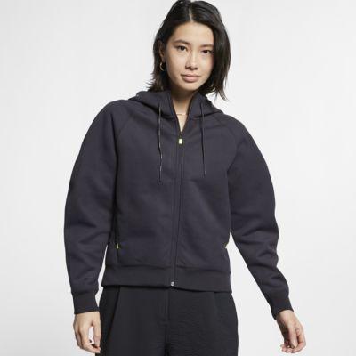 Hoodie de lã cardada com fecho completo Nike Sportswear Tech Pack para mulher