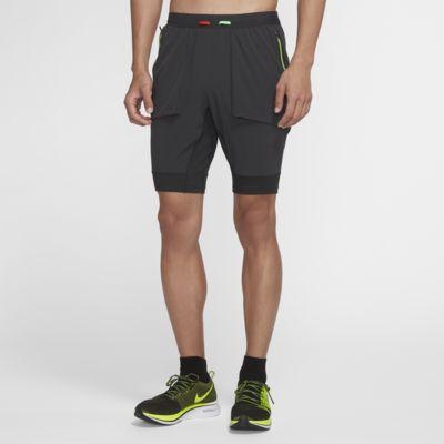 กางเกงวิ่งขาสั้นผู้ชายไฮบริด Nike