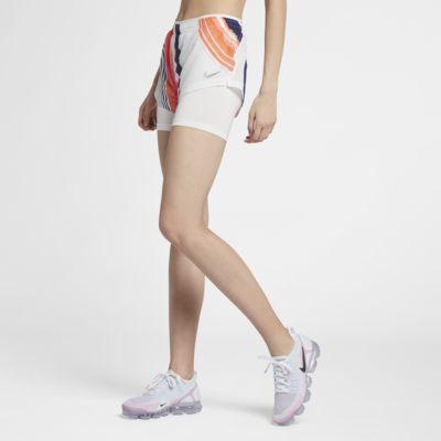 กางเกงวิ่งขาสั้น 2-in-1 ผู้หญิง Nike
