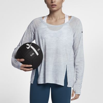 Nike Breathe 女子长袖训练上衣
