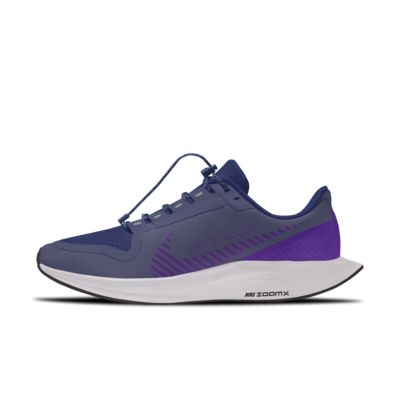 Nike Zoom Pegasus Turbo 2 Shield Low By You tilpasset løpesko til herre