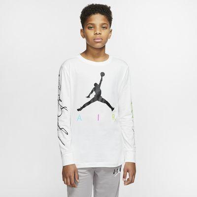 Tee-shirt à manches longues Jordan Jumpman pour Garçon plus âgé