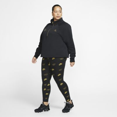 Damskie legginsy z nadrukiem Nike Sportswear (duże rozmiary)