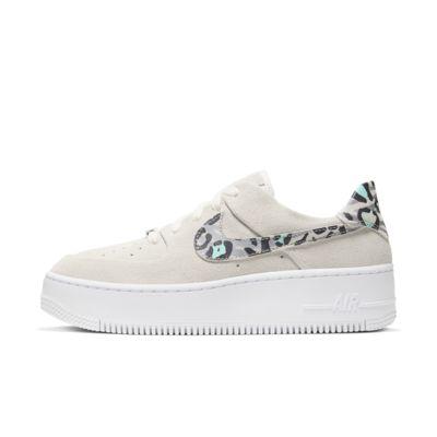 Nike Air Force 1 Sage Low-sko med dyreprint til kvinder