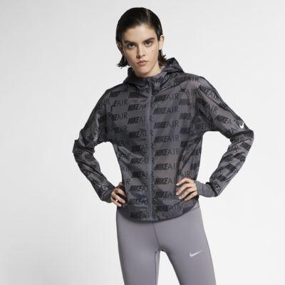 Giacca da running con cappuccio Nike Air - Donna