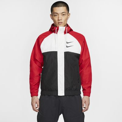 Nike Sportswear Swoosh Men's Woven Hooded Jacket