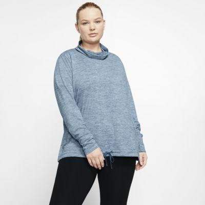 Nike Yoga Women's Funnel-Neck Top (Plus Size)
