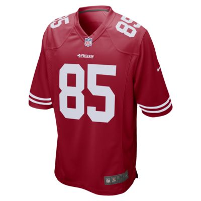 NFL San Francisco 49ers (George Kittle) Men's Game Football Jersey