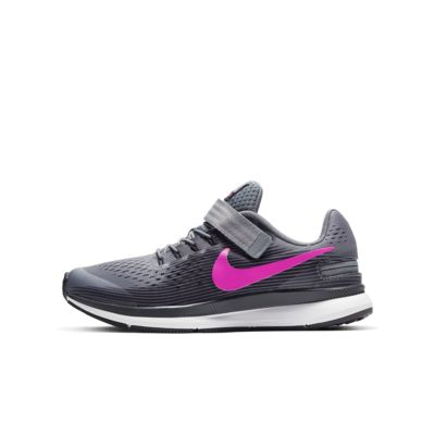 Nike Zoom Pegasus 34 FlyEase Little/Big Kids' Running Shoe