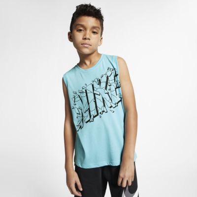 Nike Breathe Big Kids' (Boys') Sleeveless Training Top