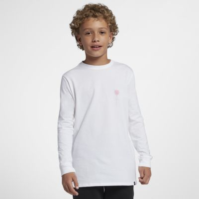 Hurley Premium Shred Boys' Long-Sleeve T-Shirt