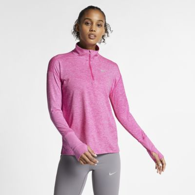 Dámský běžecký top Nike s polovičním zipem