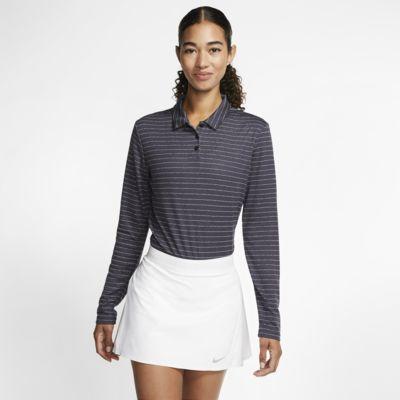 Polo de golf à manches longues Nike Dri-FIT pour Femme