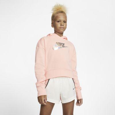 Nike Sportswear Kurz-Hoodie für ältere Kinder (Mädchen)