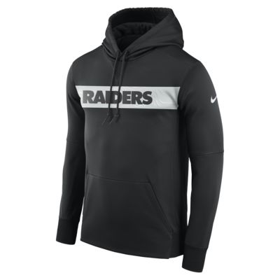 Nike Dri-FIT Therma (NFL Raiders) Men's Pullover Hoodie