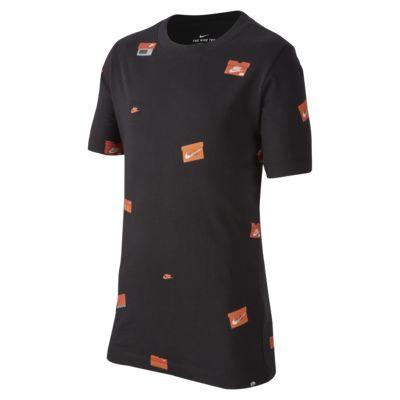 Купить Футболка для школьников Nike Sportswear, Черный, 22925948, 12557729