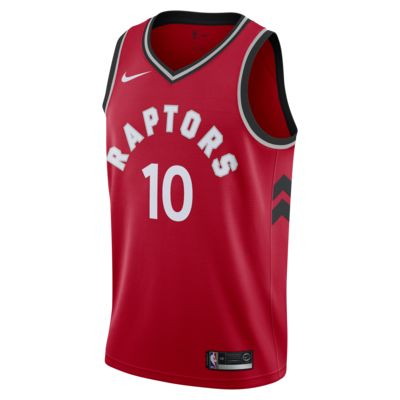 Camiseta conectada Nike NBA para hombre DeMar DeRozan Icon Edition Swingman (Toronto Raptors)