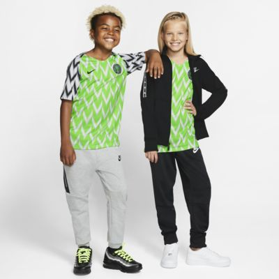 Maillot de football Nigeria 2019 Stadium Home pour Enfant