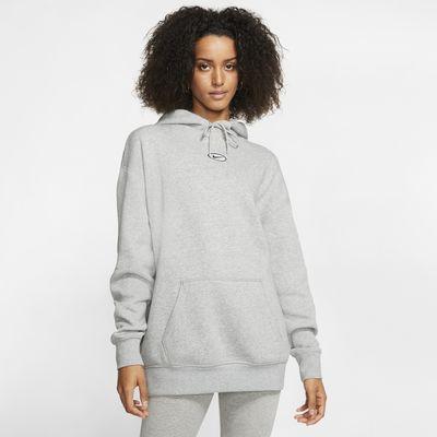 Nike Sportswear Swoosh-hættetrøje til kvinder