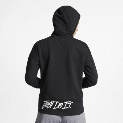 Nike Dri-FIT langärmliger Damen-Hoodie mit durchgehendem Reißverschluss