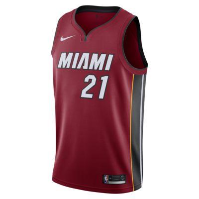 Hassan Whiteside Statement Edition Swingman (Miami Heat) Men's Nike NBA Connected Jersey