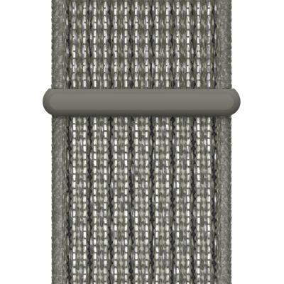 Apple Watch Nike Geweven sportbandje — Spruce Fog (40 mm)