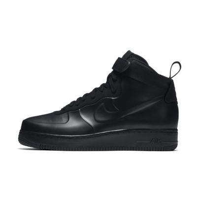 Nike Zapatillas Air Force 1 Foamposite Triple Black EN Piel Negra AH6771-001 ykv93PAYN0