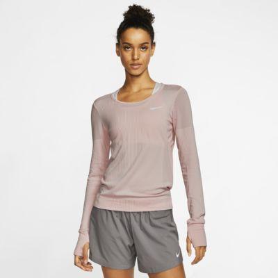 Damska koszulka z długim rękawem do biegania Nike Infinite