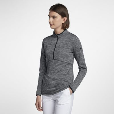 Nike Dry Golfoverdel med halv lynlås til kvinder