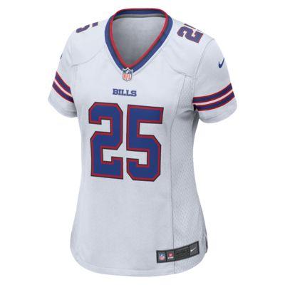 6fb4401fb87 NFL Buffalo Bills (LeSean McCoy) Women's Football Away Game Jersey ...