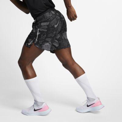 Nike Flex Stride Nathan Bell Herren-Laufshorts mit Print (ca. 18 cm)