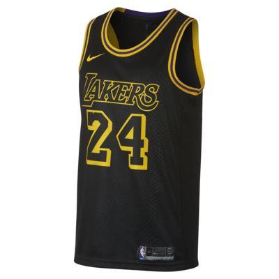 Kobe Bryant City Edition Swingman Jersey (Los Angeles Lakers) Men's Nike NBA Jersey