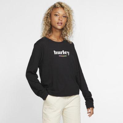 Tee-shirt à manches longues Hurley Pompel Perfect pour Femme