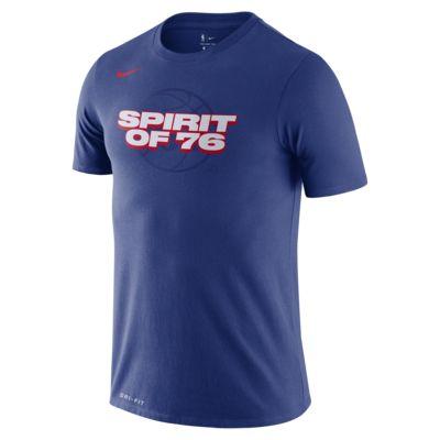 费城 76 人队 Nike Dri-FITNBA 男子T恤