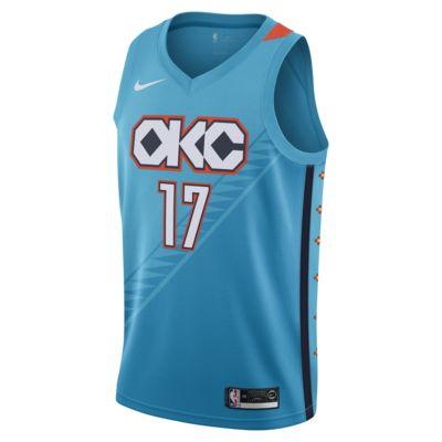 Maillot connecté Nike NBA City Edition Swingman (Oklahoma City Thunder) pour Homme