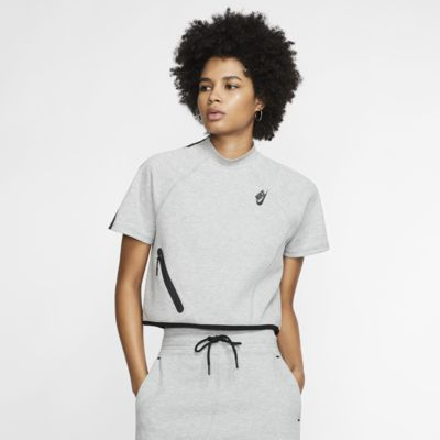Nike Sportswear Tech Fleece Women's Short-Sleeve Top