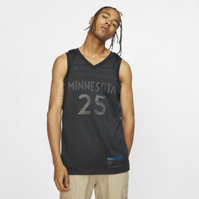Camiseta conectada Nike NBA para hombre Derrick Rose MVP Swingman (Minnesota Timberwolves)