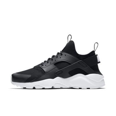 Nike Running Shoes White Leather Elastic