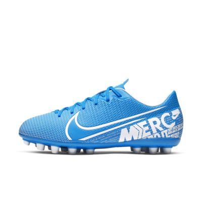 Chuteiras de futebol para relva artificial Nike Jr. Mercurial Vapor 13 Academy AG para criança