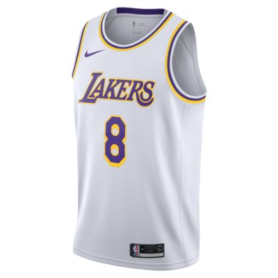 Camiseta conectada Nike NBA para hombre Kobe Bryant Association Edition Swingman (Los Angeles Lakers)