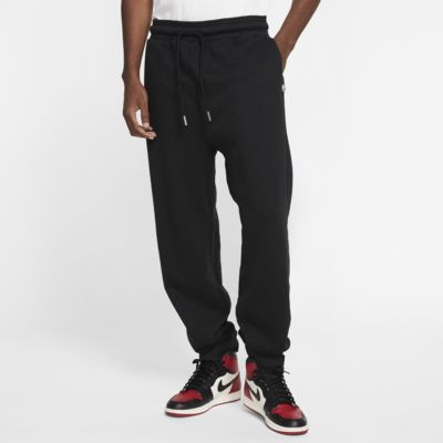 Jordan Black Cat Fleece Trousers